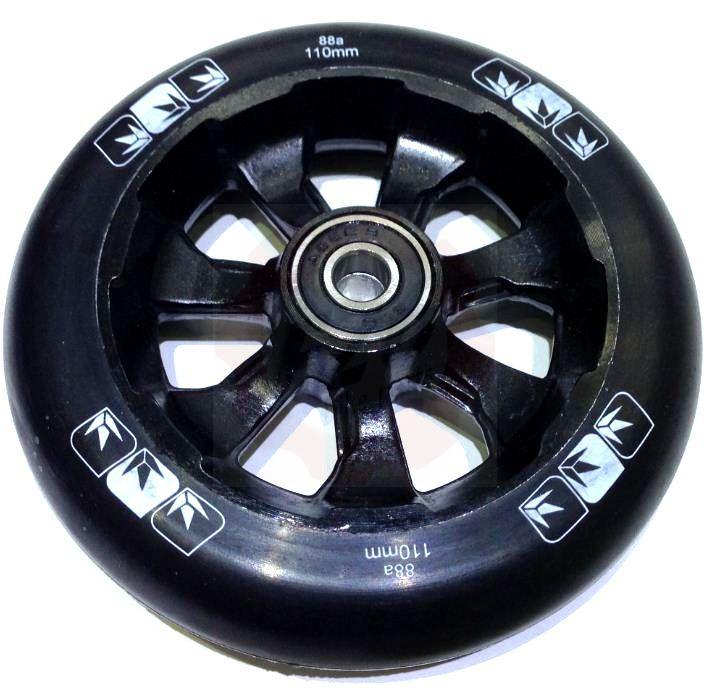 blunt spoked wheels 110mm 9 stunt scooter freestyle roller. Black Bedroom Furniture Sets. Home Design Ideas