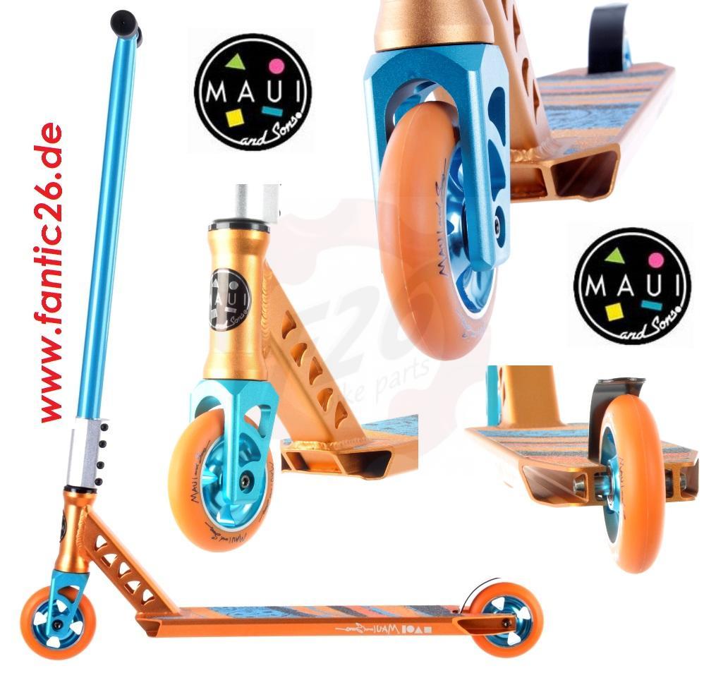maui and sons shredder stunt scooter trottinette freestyle. Black Bedroom Furniture Sets. Home Design Ideas