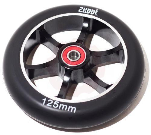 zkoot 125mm stunt scooter wheels flex brake bremse rollen. Black Bedroom Furniture Sets. Home Design Ideas