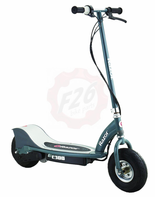 razor elektro scooter razor e300 scooter roller grey. Black Bedroom Furniture Sets. Home Design Ideas