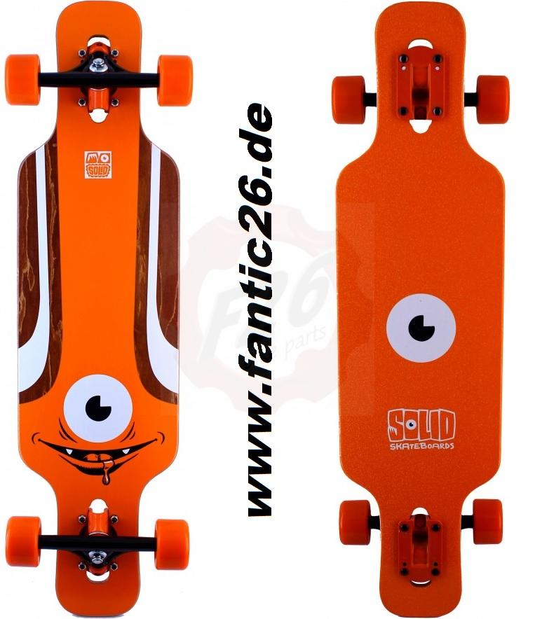 solid eye kid minicruiser longboard komplett skateboard. Black Bedroom Furniture Sets. Home Design Ideas