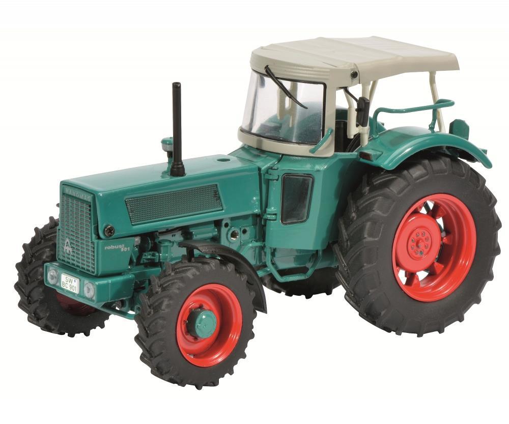 Schuco traktor hanomag robust mit dach sammler