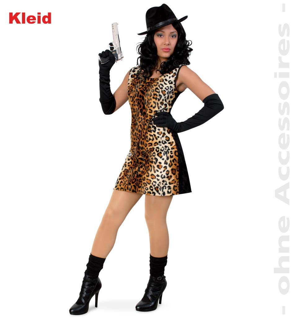 fasching karneval lady cat kleid katzen kost m neu ebay. Black Bedroom Furniture Sets. Home Design Ideas