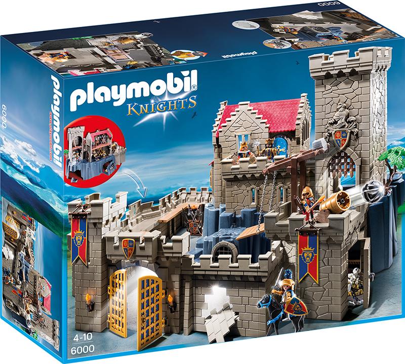 Ritterburg Holz Oder Playmobil ~ PLAYMOBIL® Königsburg der Löwenritter Burg Ritterburg 6000  eBay