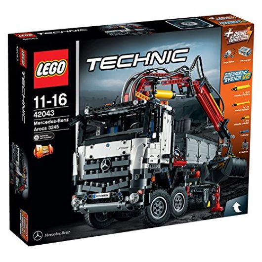 lego technic camion mercedes benz actros 3245 42043. Black Bedroom Furniture Sets. Home Design Ideas
