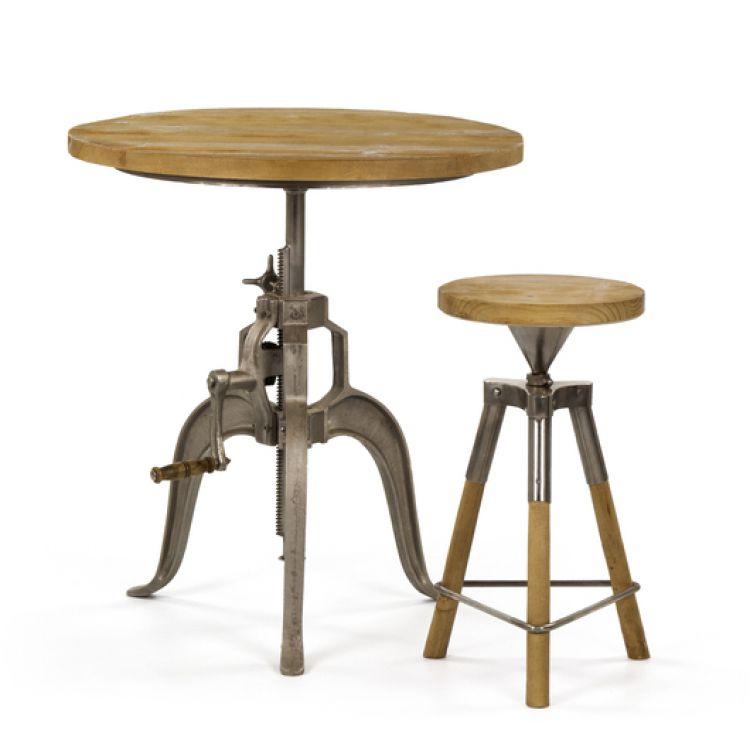 barhocker vintage holz stuhl barstuhl tresenhocker bistrohocker h henverstellbar ebay. Black Bedroom Furniture Sets. Home Design Ideas