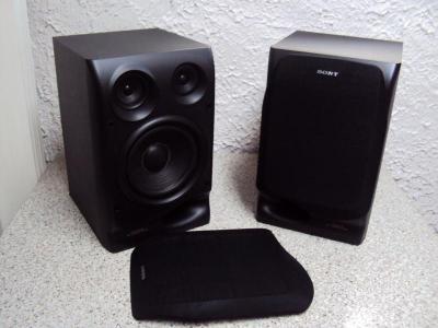 2 lautsprecherboxen sony ss h801v 3 way speaker system 6 ohm funktionst chtig ebay. Black Bedroom Furniture Sets. Home Design Ideas