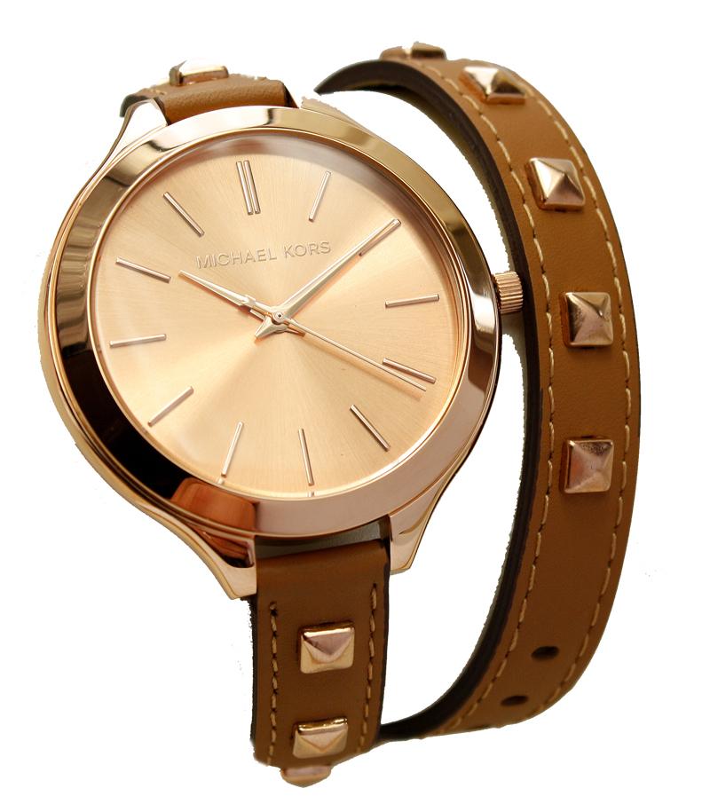 michael kors uhr damenuhr armbanduhr leder rose mk2299 neu. Black Bedroom Furniture Sets. Home Design Ideas