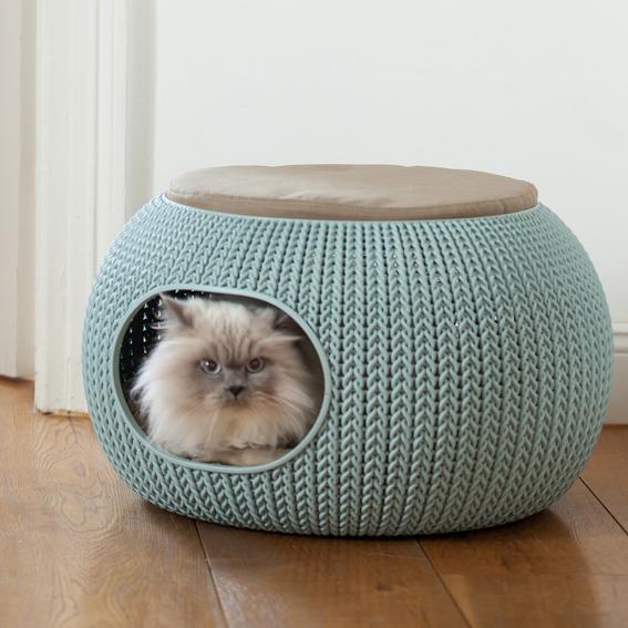 curver petlife schlafplatz bett und h hle katzen und hunde. Black Bedroom Furniture Sets. Home Design Ideas