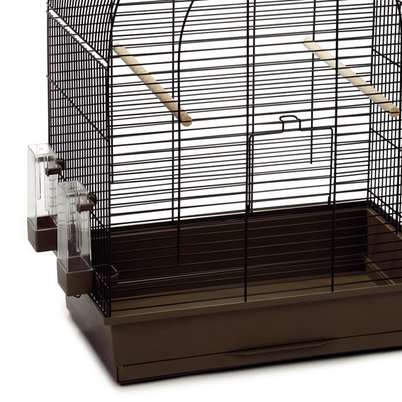 vogelk fig vogelheim vogelhaus k fig voliere xl 39 big lucie 39 54x34x75 cm mokka ebay. Black Bedroom Furniture Sets. Home Design Ideas