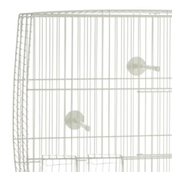 vogelk fig vogelhaus k fig sittich kanarien 39 natalia gro 39 55 5x34x52 cm wei ebay. Black Bedroom Furniture Sets. Home Design Ideas