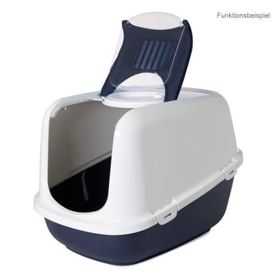 katzentoilette haubentoilette katzenklo mit haube 39 clean cat jumbo xxl 39 ebay. Black Bedroom Furniture Sets. Home Design Ideas