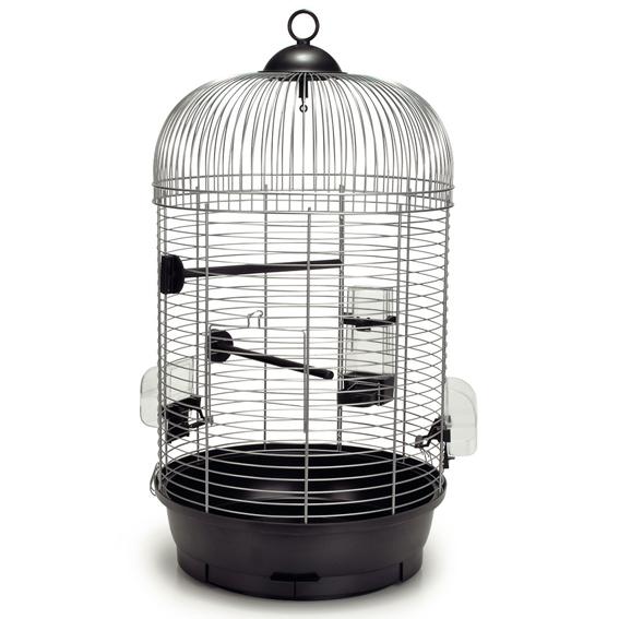 vogelk fig voliere vogelbauer rund passendem st nder 39 julia jim 39 silber ebay. Black Bedroom Furniture Sets. Home Design Ideas