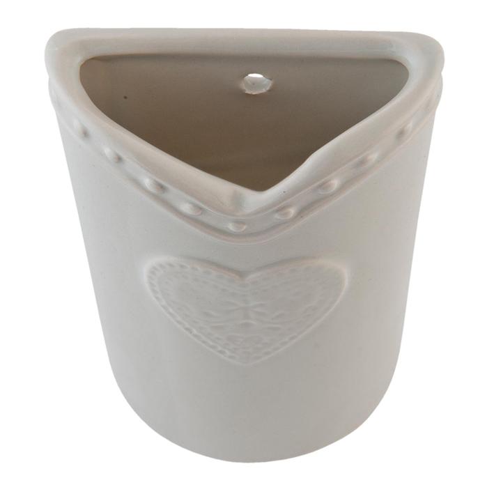 keramik luftbefeuchter clayre eef herz antik heizk rper. Black Bedroom Furniture Sets. Home Design Ideas