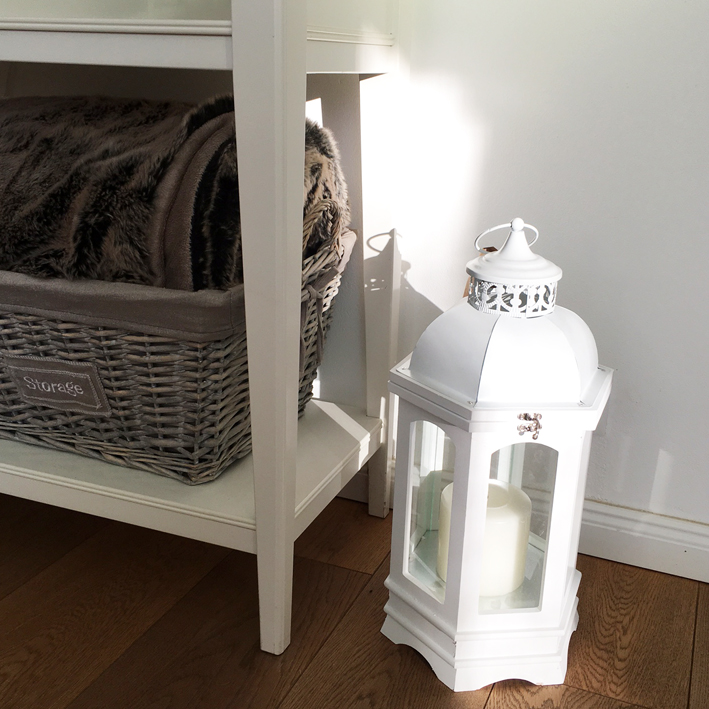 windlicht l 39 orient wei laterne 47 cm holz metall shabby vintage nostalgie landh ebay. Black Bedroom Furniture Sets. Home Design Ideas