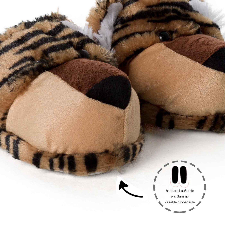Haus schuhe pl sch tier lustige tiger l we pantoffeln - Lustige pantoffeln ...
