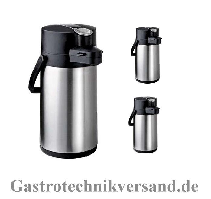 3 stk bartscher edelstahl isolierkanne pumpkanne thermoskanne 2 0 liter ebay. Black Bedroom Furniture Sets. Home Design Ideas