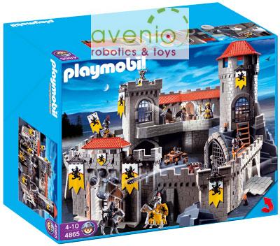 Playmobil 4865 gro e l wenritterburg t glicher dhl for 4865 playmobil