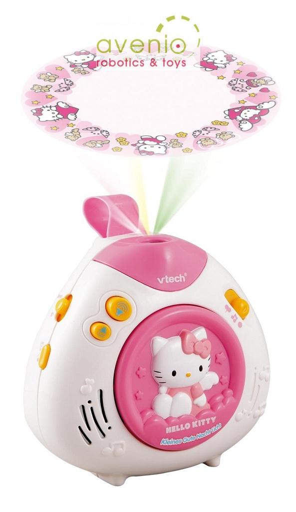 vtech hello kitty kleines gute nacht licht deckenprojektion musik naturger usche ebay. Black Bedroom Furniture Sets. Home Design Ideas