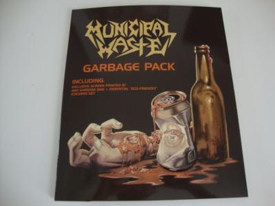 MUNICIPAL-WASTE-The-Fatal-Feast-Residential-Disaster-10-VINYL-GARBAGE-PACK