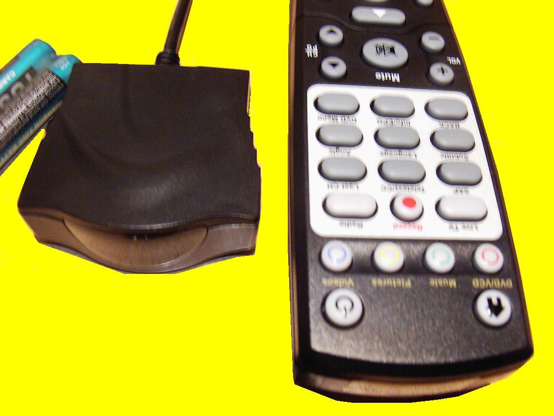 ir infrarot empf nger mit fernbedienung f r pc notebook tablet netbook plug and ebay. Black Bedroom Furniture Sets. Home Design Ideas