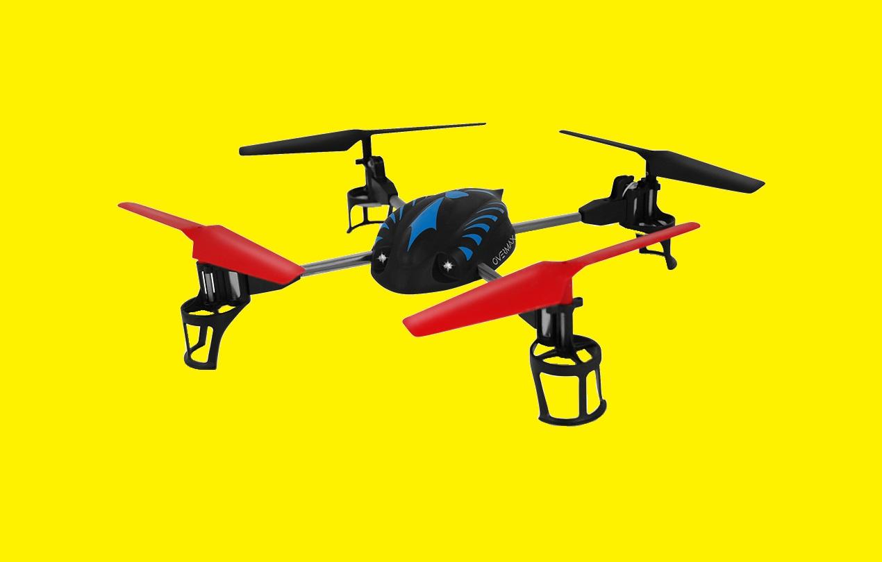 drone rc quadrocopter led beleuchtung hd kamera flugzeit 30 min overmax x bee d ebay. Black Bedroom Furniture Sets. Home Design Ideas