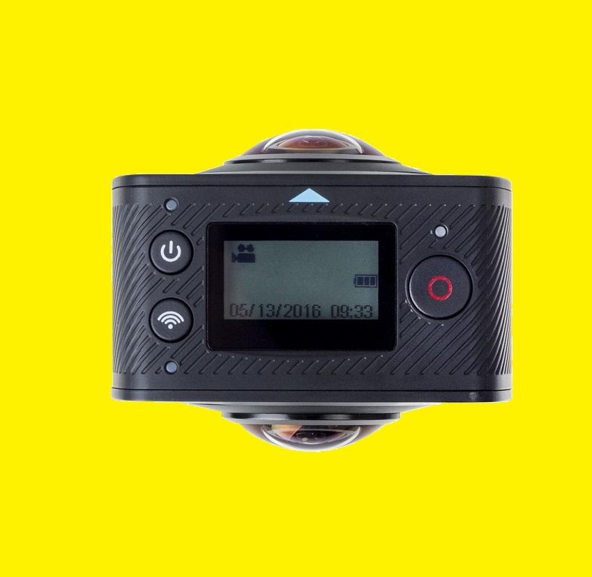 360 grad action cam full hd kamera panorama vr video. Black Bedroom Furniture Sets. Home Design Ideas