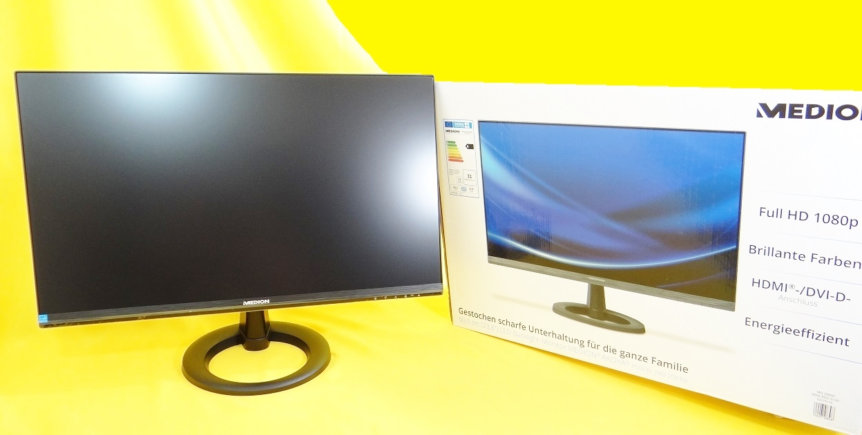 24 zoll led full hd monitor 60 5 cm blacklight hdmi dvi d reaktions 6 ms ebay. Black Bedroom Furniture Sets. Home Design Ideas