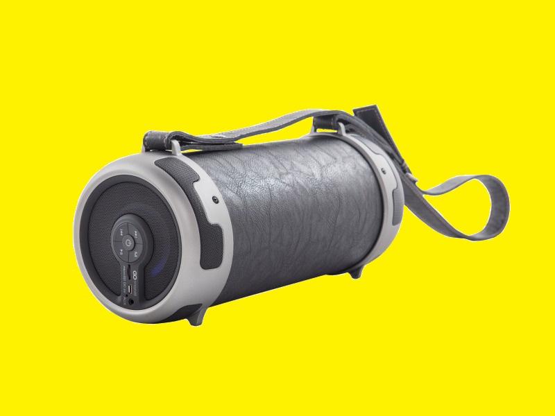 portable bluetooth speaker boombox sound tube xl 1800mah. Black Bedroom Furniture Sets. Home Design Ideas