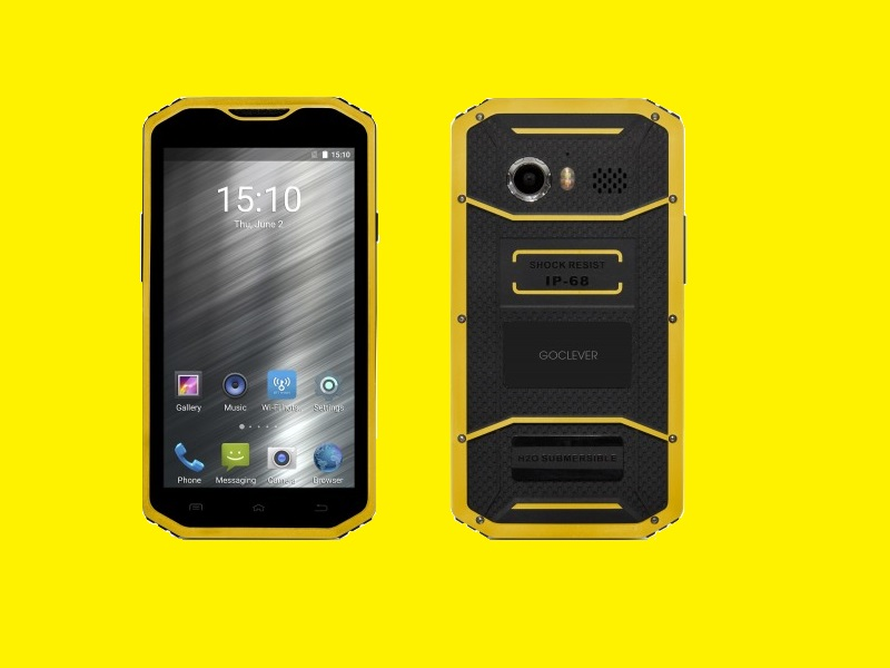 chantier t l phone portable 5 5 smartphone dual sim 4g lte ips hd gps rugged ebay. Black Bedroom Furniture Sets. Home Design Ideas