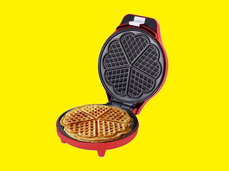 waffeleisen waffelmaker waffelautomat herzform. Black Bedroom Furniture Sets. Home Design Ideas