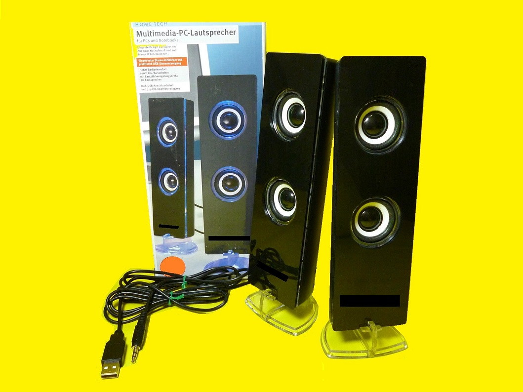 multimedia stereo lautsprecher boxen mit led beleuchtung. Black Bedroom Furniture Sets. Home Design Ideas