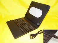 Schutzmappe für IPad Bluetooth-QWERTZ Tastatur/ Tasche / Hülle/ USB