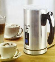 Edelstahl Milchaufschäumer/Antihaftbeschichtet bis 240 ml