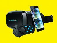 Virtual-Reality-Brille/Bluetooth GOCLEVER ELYSIUM VR plus 360° Panorama Bilder