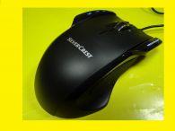 Laser-Gaming-Maus / Kabelgebunden / USB-Anschluss / Tilt-Wheel-Mausrad / Gewicht