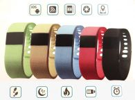 Smart Armband Uhr 1,54 Zoll LCD Bluetooth iOS Android Fitness Sport Tracker