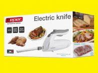 Elektrisches Messer Küchenmesser Edelstahl Doppelklingen