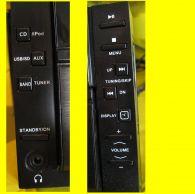 Designanlage, CD, Radio, iPod inklusiv Lautsprecher