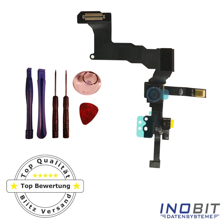 iphone 5 sensor flex kabel mit front kamera proximity sensor reparatur set ebay. Black Bedroom Furniture Sets. Home Design Ideas