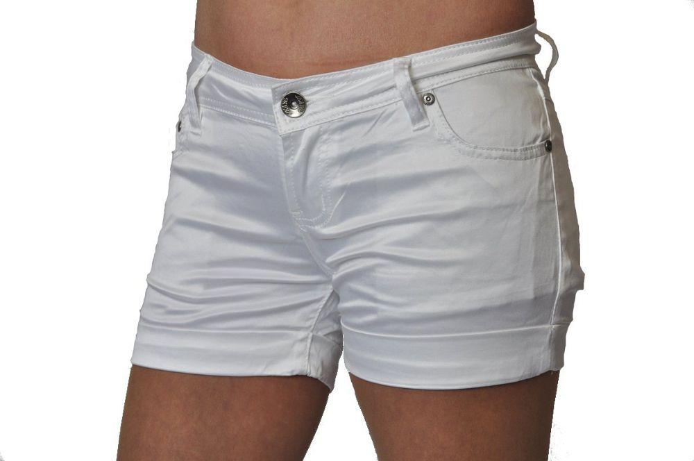 details about sexy kelly damen glanz hotpants shorts kurze hose xs xl. Black Bedroom Furniture Sets. Home Design Ideas