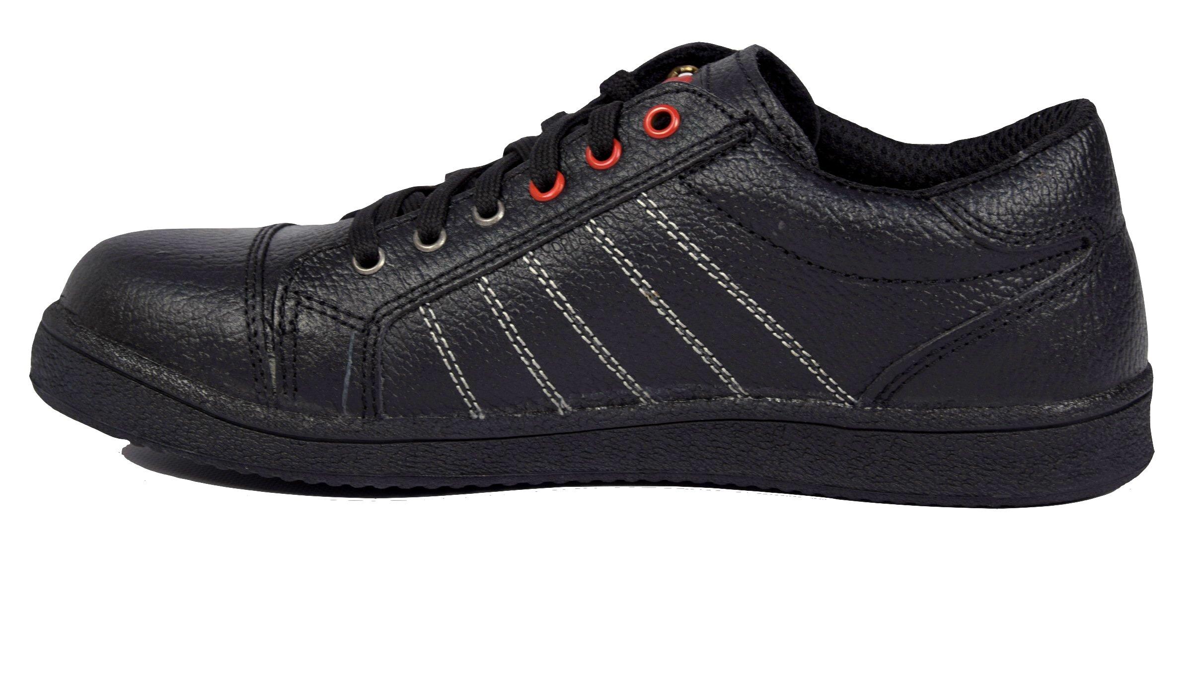 sportliche arbeits und sicherheitsschuhe halbschuhe sneaker schwarz s3 en345 ebay. Black Bedroom Furniture Sets. Home Design Ideas
