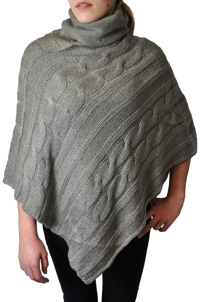 moderner damen marken strick poncho und strickjacke ebay. Black Bedroom Furniture Sets. Home Design Ideas
