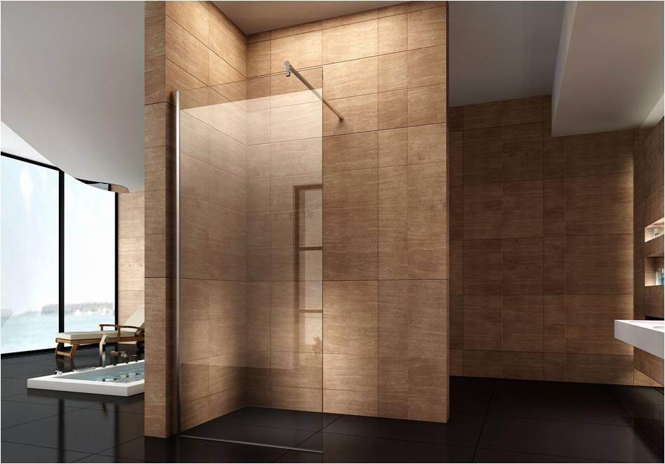 duschwand 95x180cm glaswand duschabtrennung duschkabine. Black Bedroom Furniture Sets. Home Design Ideas