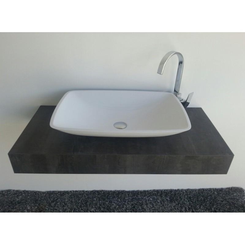 mineralguss aufsatz waschschale kumos 633x422x120 mm. Black Bedroom Furniture Sets. Home Design Ideas
