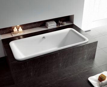einbau badewanne eckig amilton. Black Bedroom Furniture Sets. Home Design Ideas