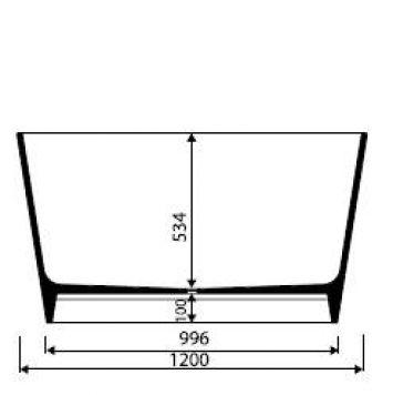 badewanne mineralguss eckig freistehend bali in glanz oder matt 1200x1200x650 ebay. Black Bedroom Furniture Sets. Home Design Ideas