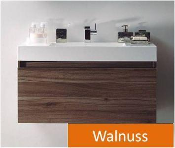 badm bel unterschank in 120 cm in der farbe walnuss ebay. Black Bedroom Furniture Sets. Home Design Ideas