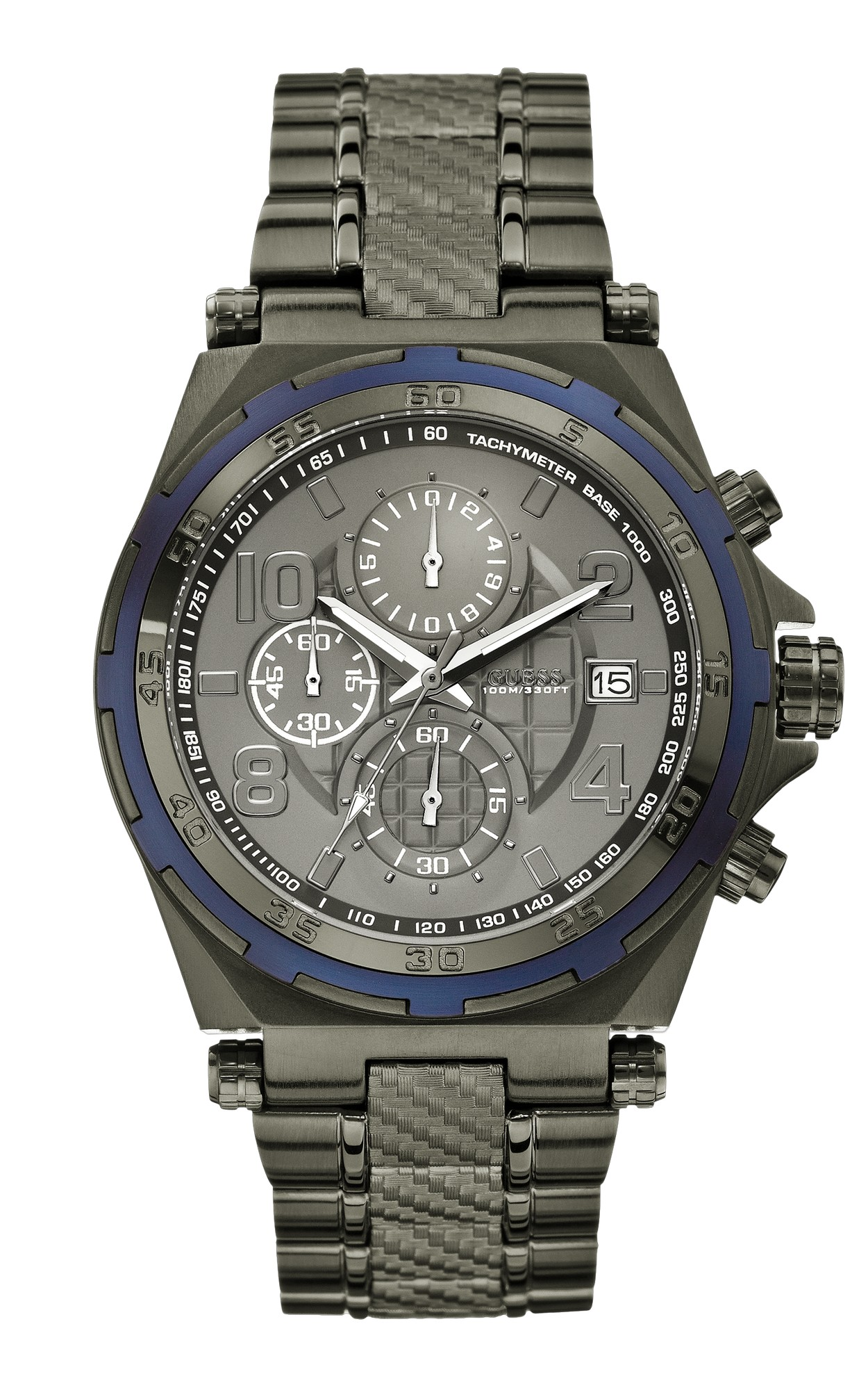 neu guess herrenuhr w0243g3 chronograph armbanduhr uhr. Black Bedroom Furniture Sets. Home Design Ideas