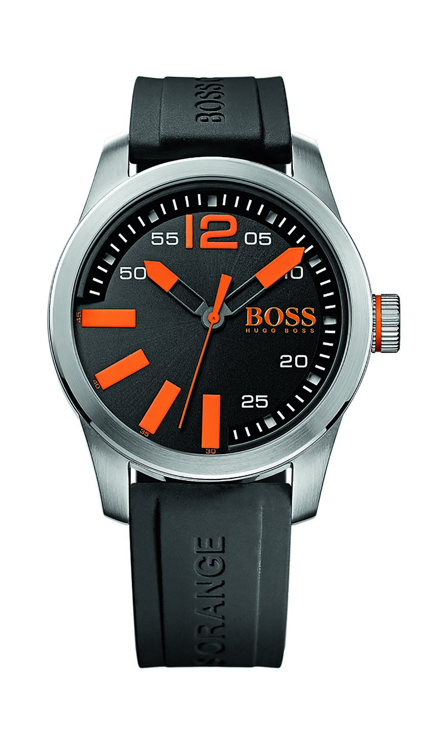 neu hugo boss orange uhr paris herren armbanduhr 1513059. Black Bedroom Furniture Sets. Home Design Ideas
